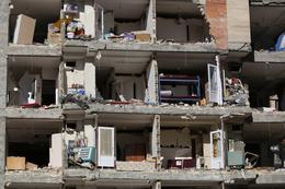 Strong earthquake hits Iraq and Iran