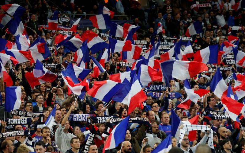 Image result for france football fans world cup 2018