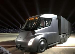 Tesla unveils Semi and Roadster
