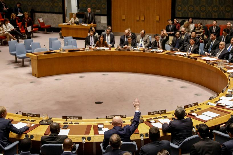After U.N. veto, Russia moves against chemical weapons watchdog
