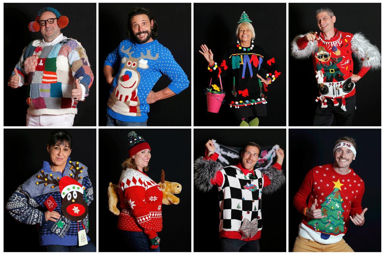 「ダサいセーター選手権」の画像検索結果
