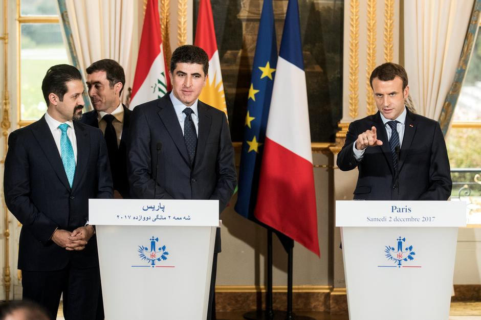 France S Macron Calls On Iraq To Dismantle All Militias Reuters