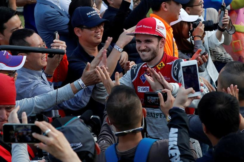 Abt Gets Apt Birthday Gift With Hong Kong Formula E Win