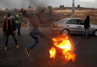 Protests over Trump's Jerusalem move