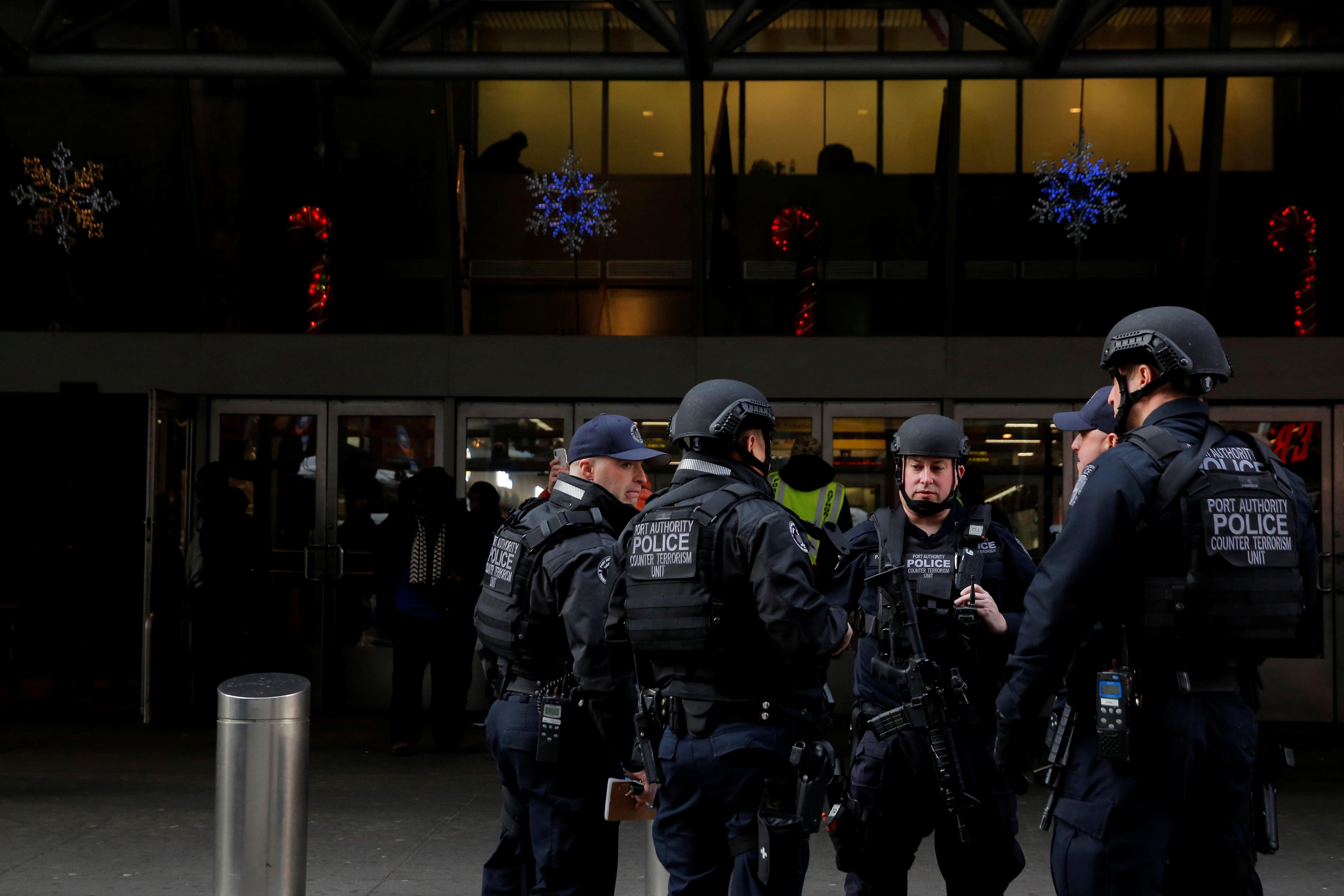 New York to adapt New Year's Eve security after botched suicide bomb