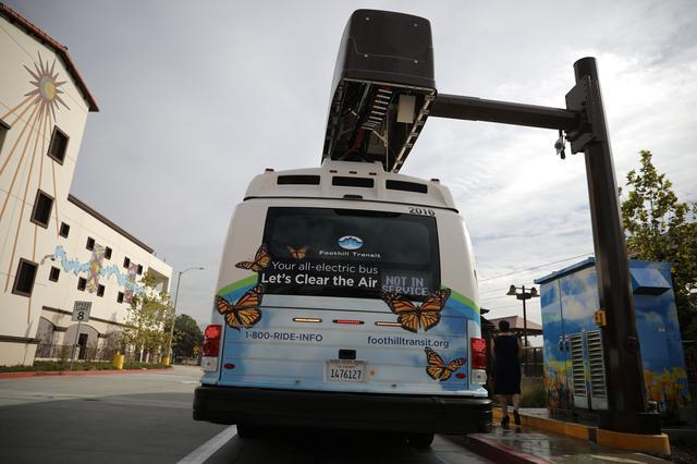 U S  transit agencies cautious on electric buses despite