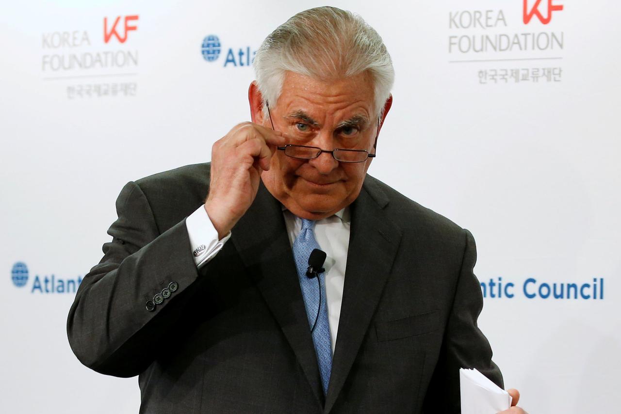 Apesar de abertura de Tillerson, Casa Branca diz não ser hora certa para conversas com Coreia do Norte