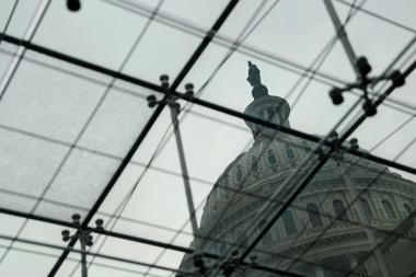 FILE PHOTO: The US Congress Capitol Building is seen from the Congressional...