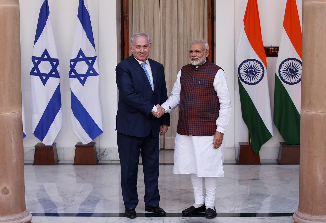 Image result for israel and India sign nine cooperation agreements during Netanyahu visit