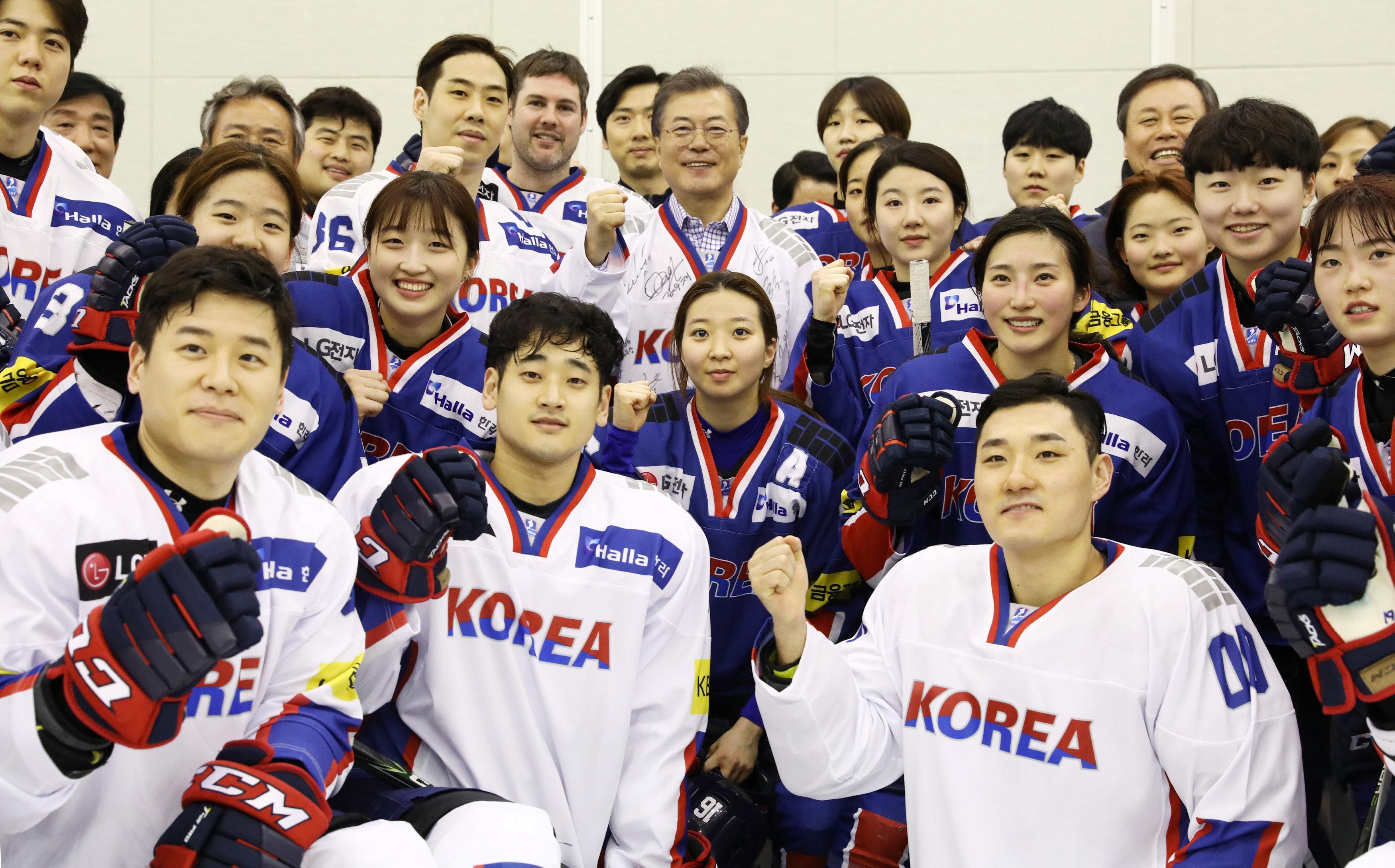 south koreas hockey team - HD3500×2178
