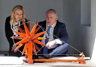 Israel PM Netanyahu in India