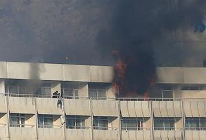 Gunmen storm Kabul hotel