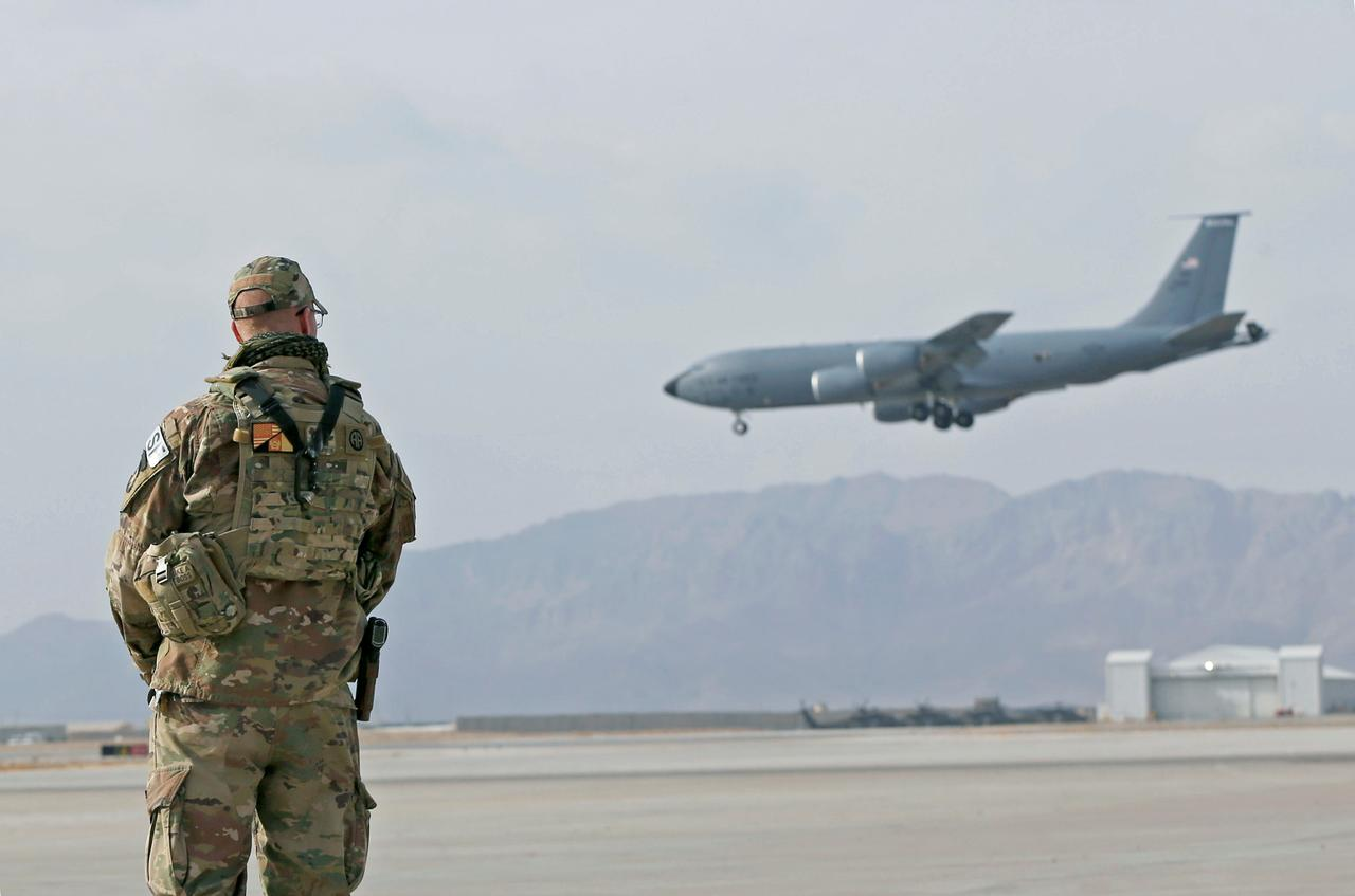 A-10 ground attack aircraft bolster U S  air power in
