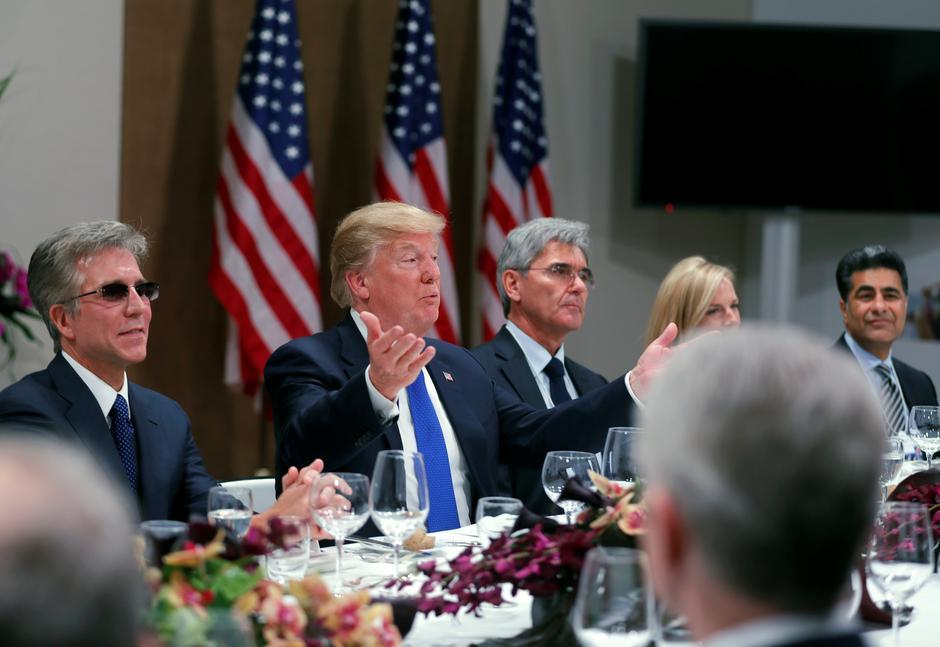 President Trump talks up dollar in Davos - Reuters