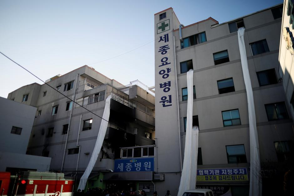 A Hospital Is Seen After Fire In Miryang South Korea January 26 2018 Kim Hong Ji Reuters