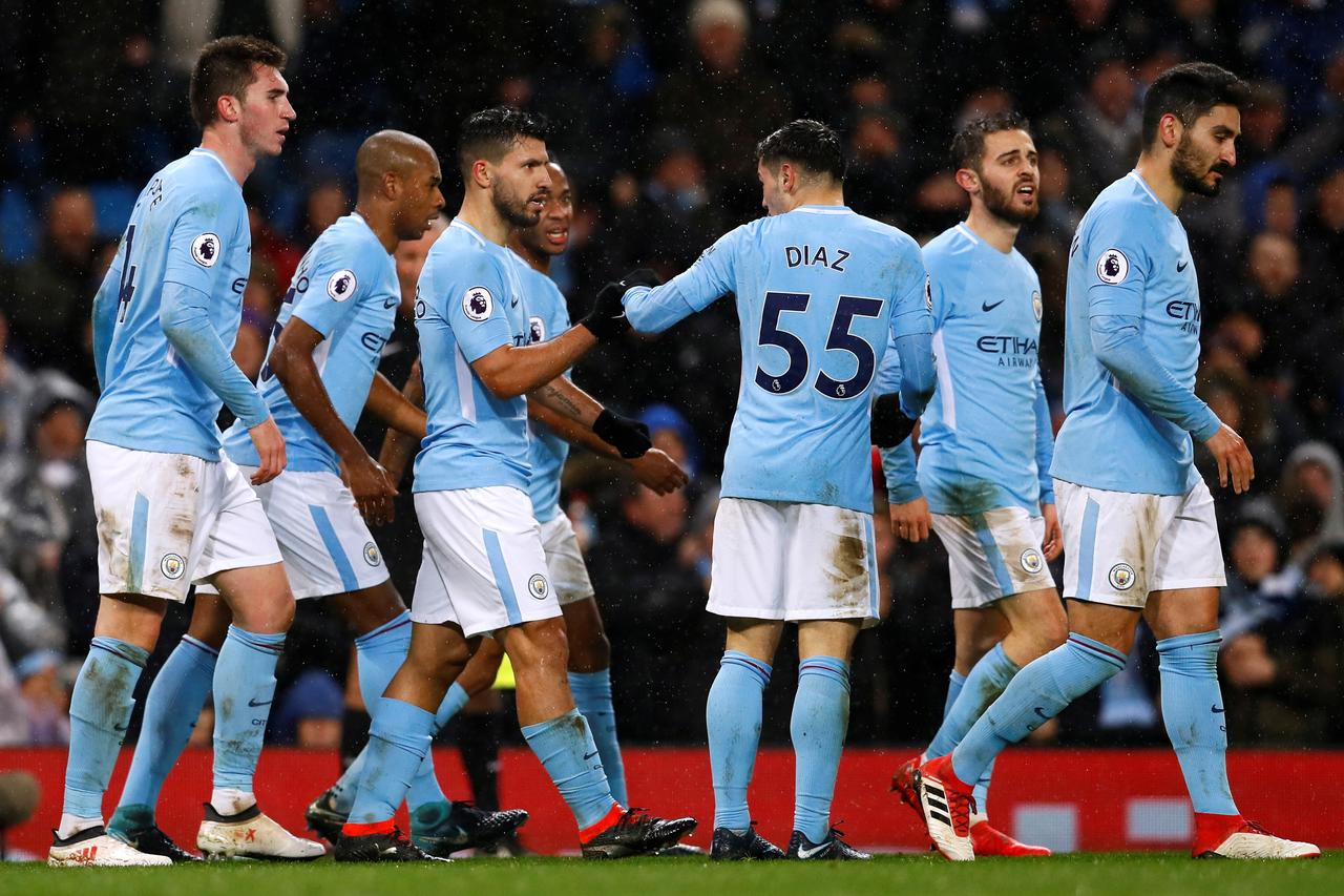 Manchester City win to go 15 points clear as Manchester