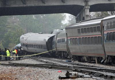 Deadly Amtrak crash