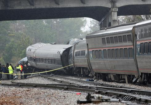 Deadly Amtrak crash