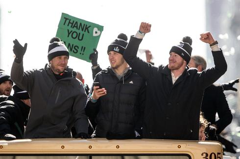 Philadelphia Eagles Super Bowl victory parade