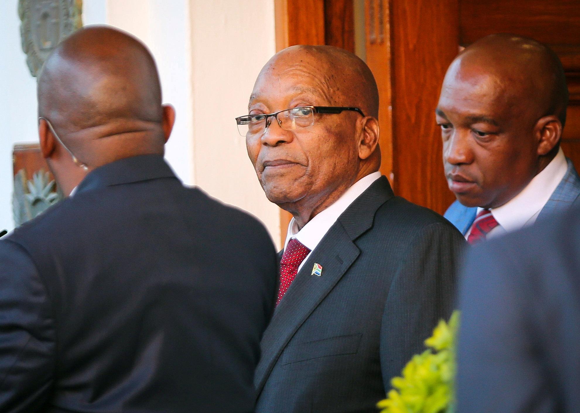 Image result for Zuma's spokesman denies report of his resignation