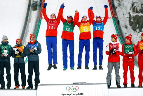 Gold medal winners in Pyeongchang