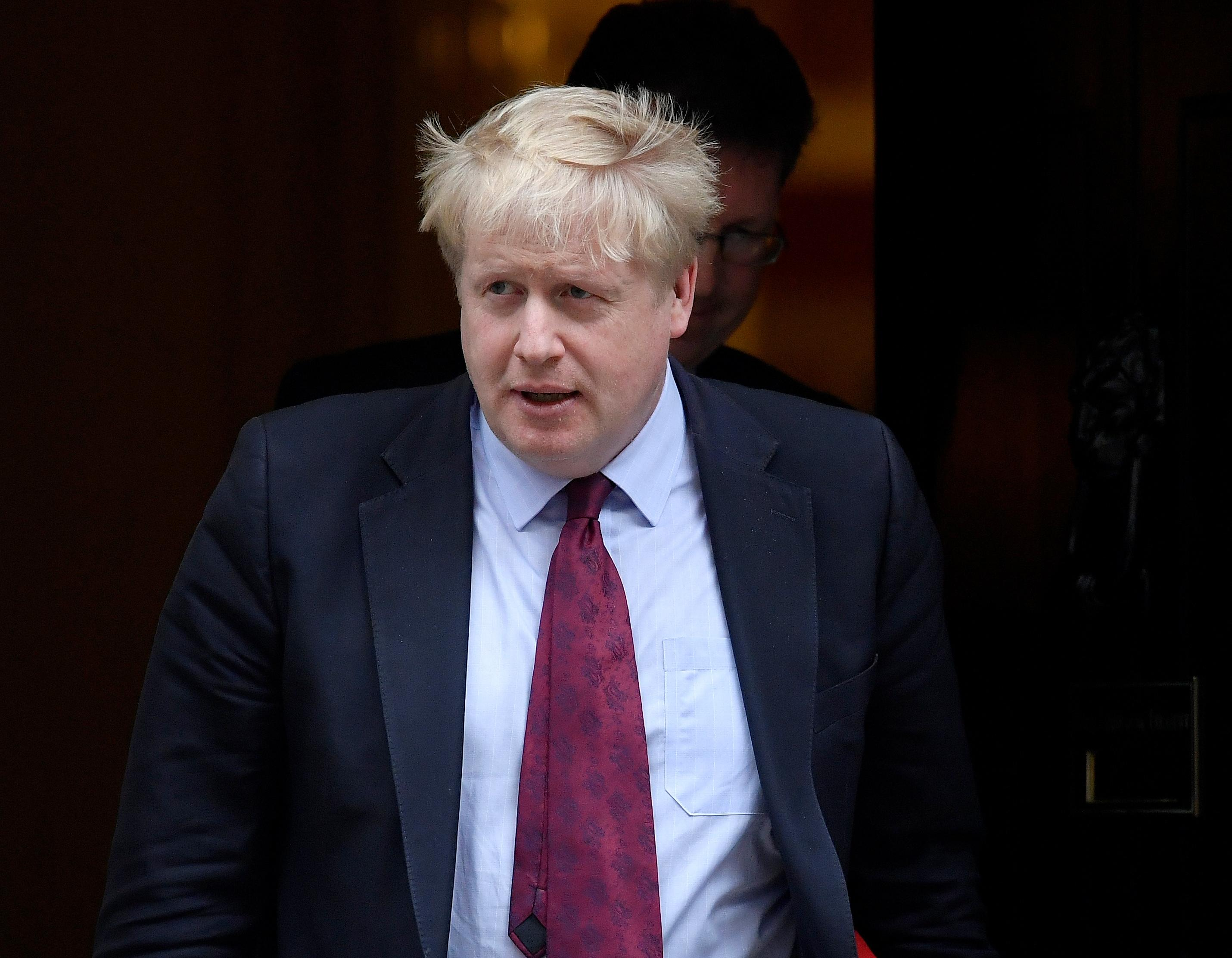 Johnson says Northern Irish border issue being used to frustrate...