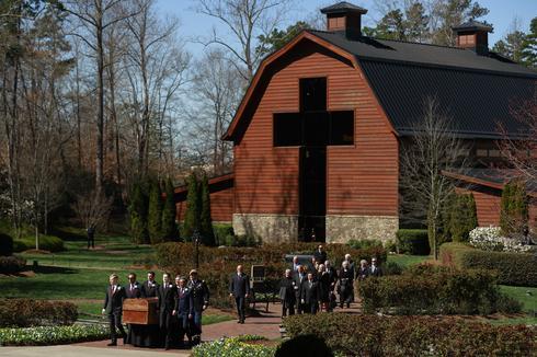Mourning Billy Graham