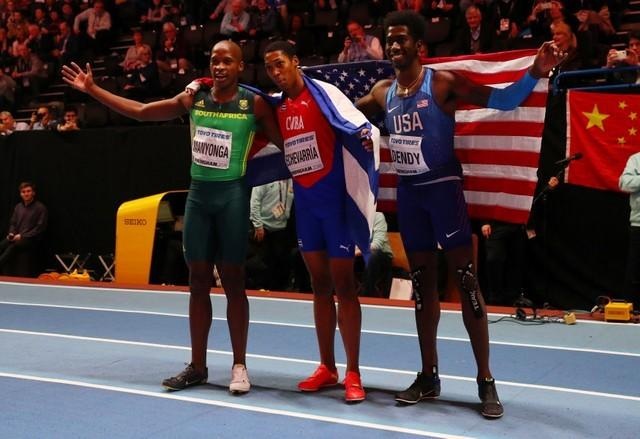 Image result for Cuba's Echevarria seizes his golden moment in long jump