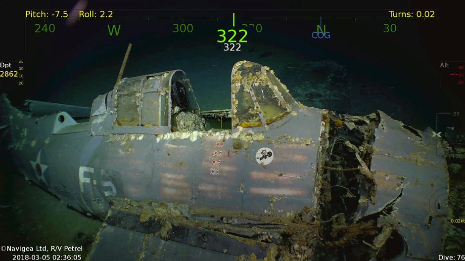 five facts on the discovery of ww2 warship lady lex reuters