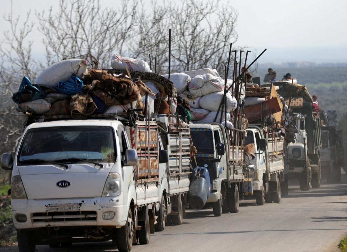 Under pressure, France toughens talk on Turkish Syria operation