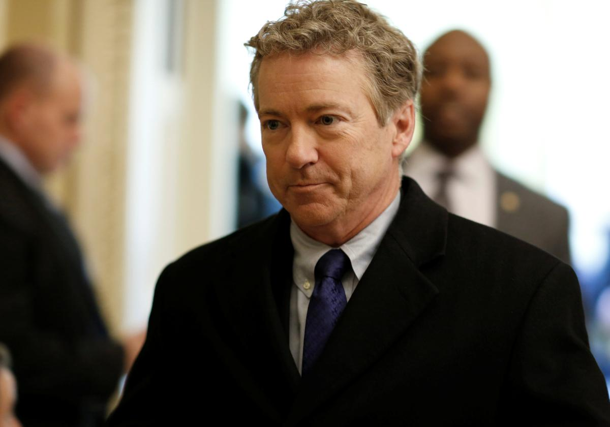 Senator Rand Paul says he opposes Pompeo, Haspel nominations