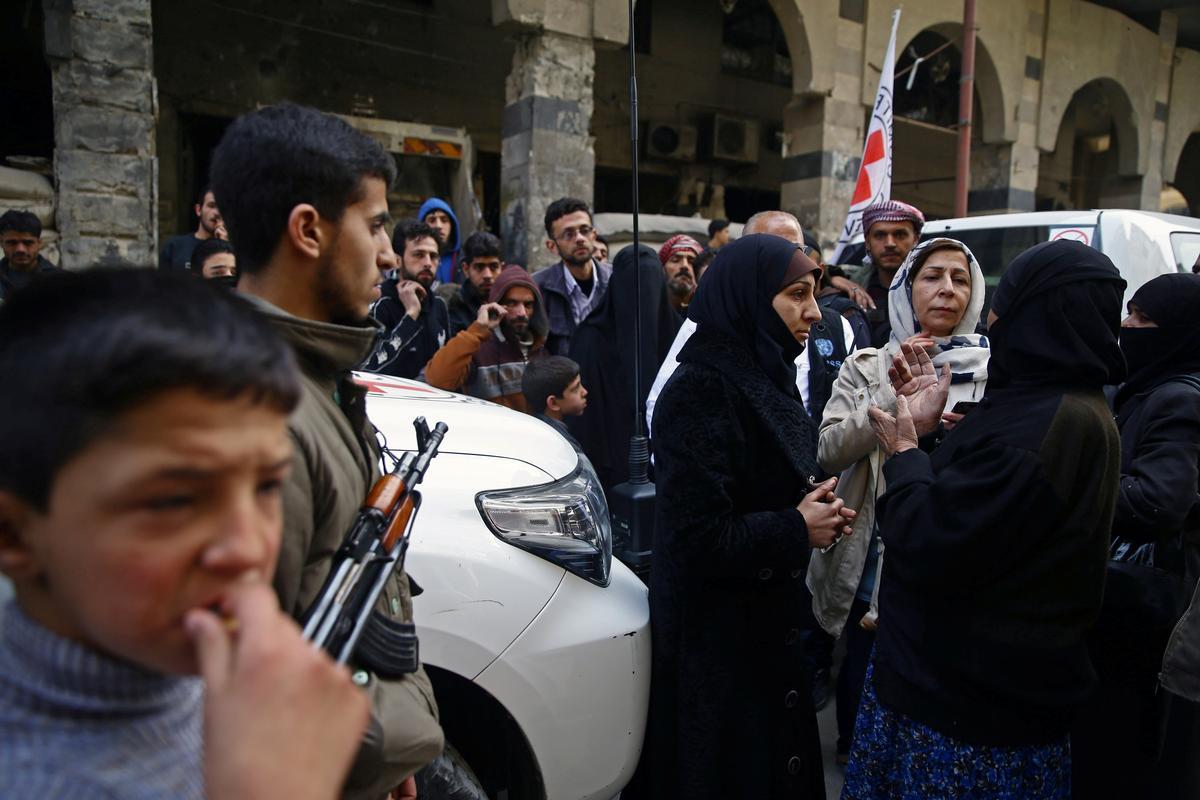 Rebels in Syria's eastern Ghouta discussing ceasefire with U.N.:...