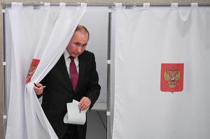 Russia votes in presidential election