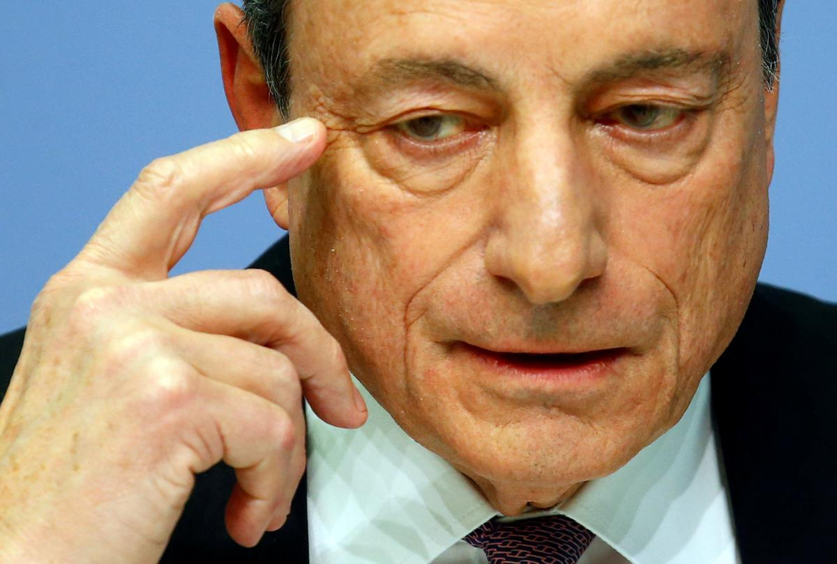 Japanese researchers seek to unmask Draghi's poker face to predict...