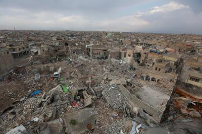 The ruins of Mosul