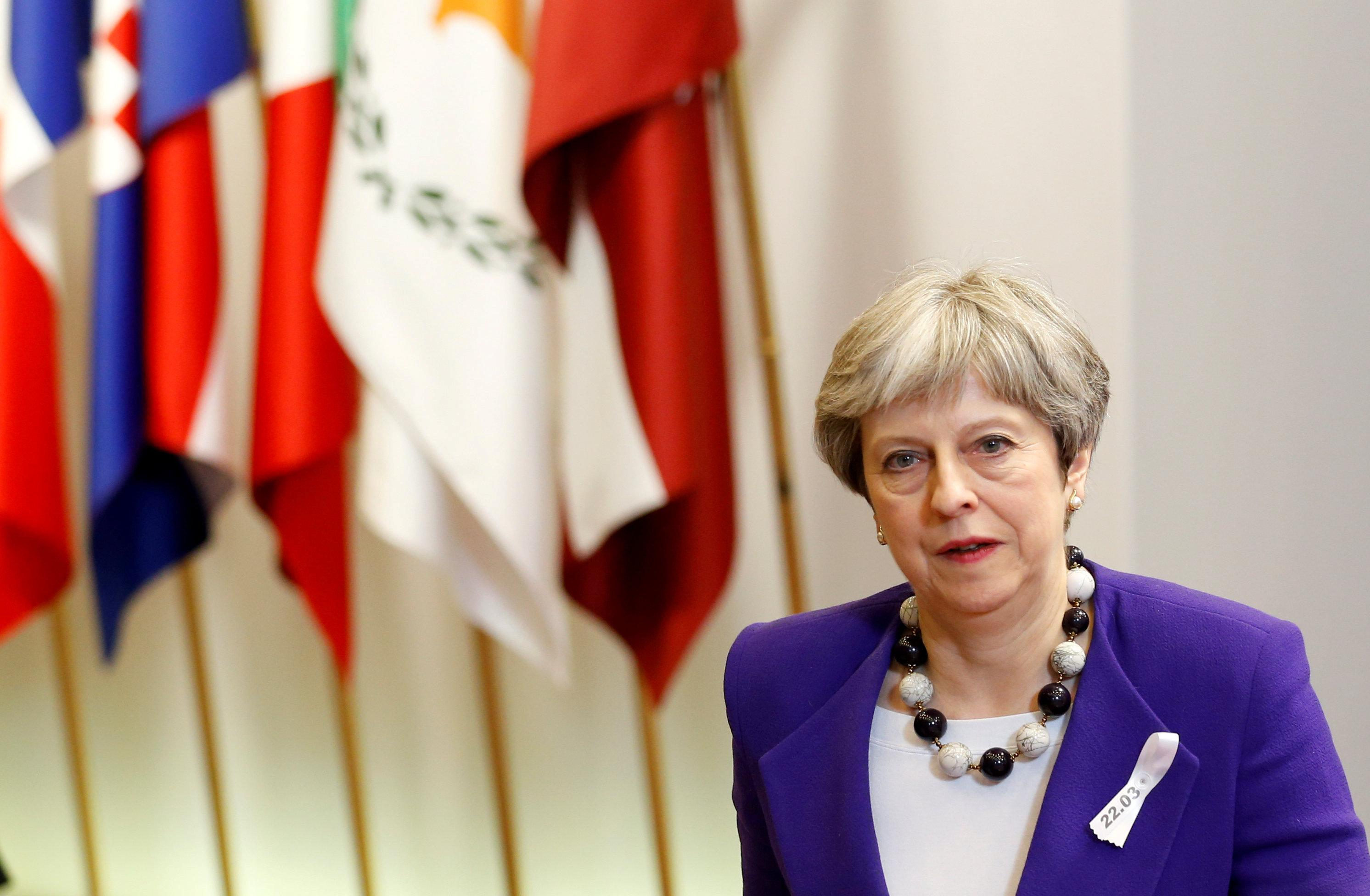 Who's your friend? Wistful EU embraces May before Brexit