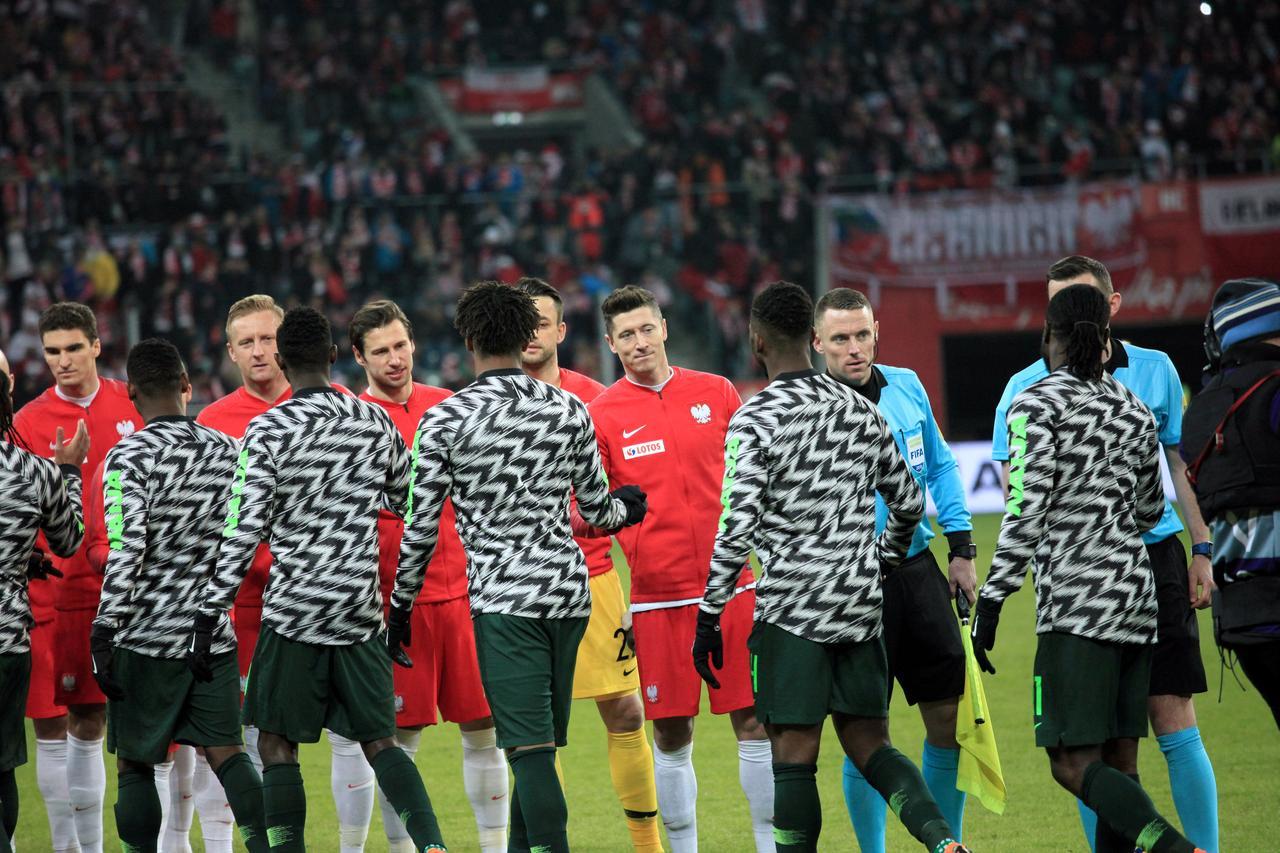 c5b1f232a Soccer Football - International Friendly - Poland vs Nigeria - Wroclaw,  Poland - March 23, 2018. Robert Lewandowski of Poland before the match.