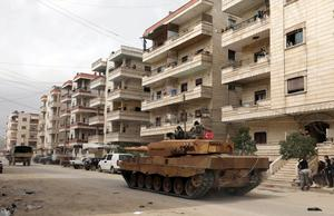 Turkish forces enter Syria's Afrin town