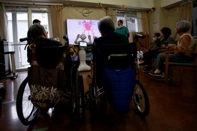 Aging Japan: Robots may have role in future of elder care - Reuters