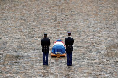 France holds state funeral for 'hero' cop