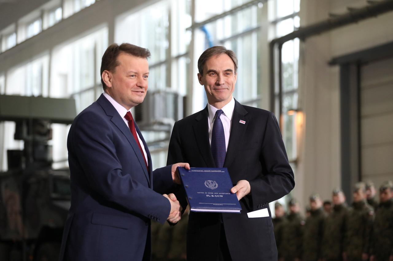 Poland signs $4 75 billion deal for U S  Patriot missile