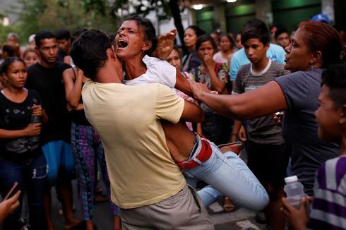 Prison fire in Venezuela