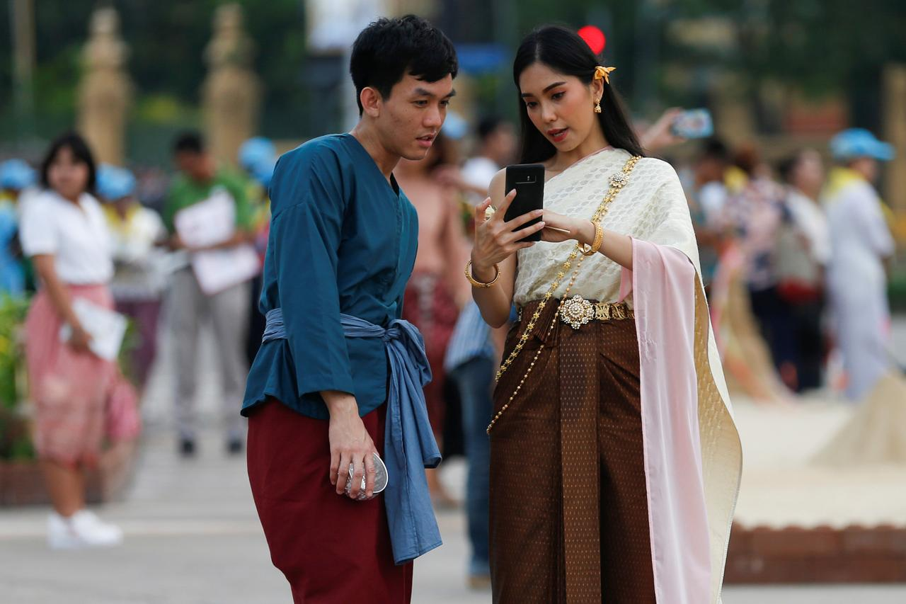 Image result for Venerating the past, traditional costume fever grips Thailand