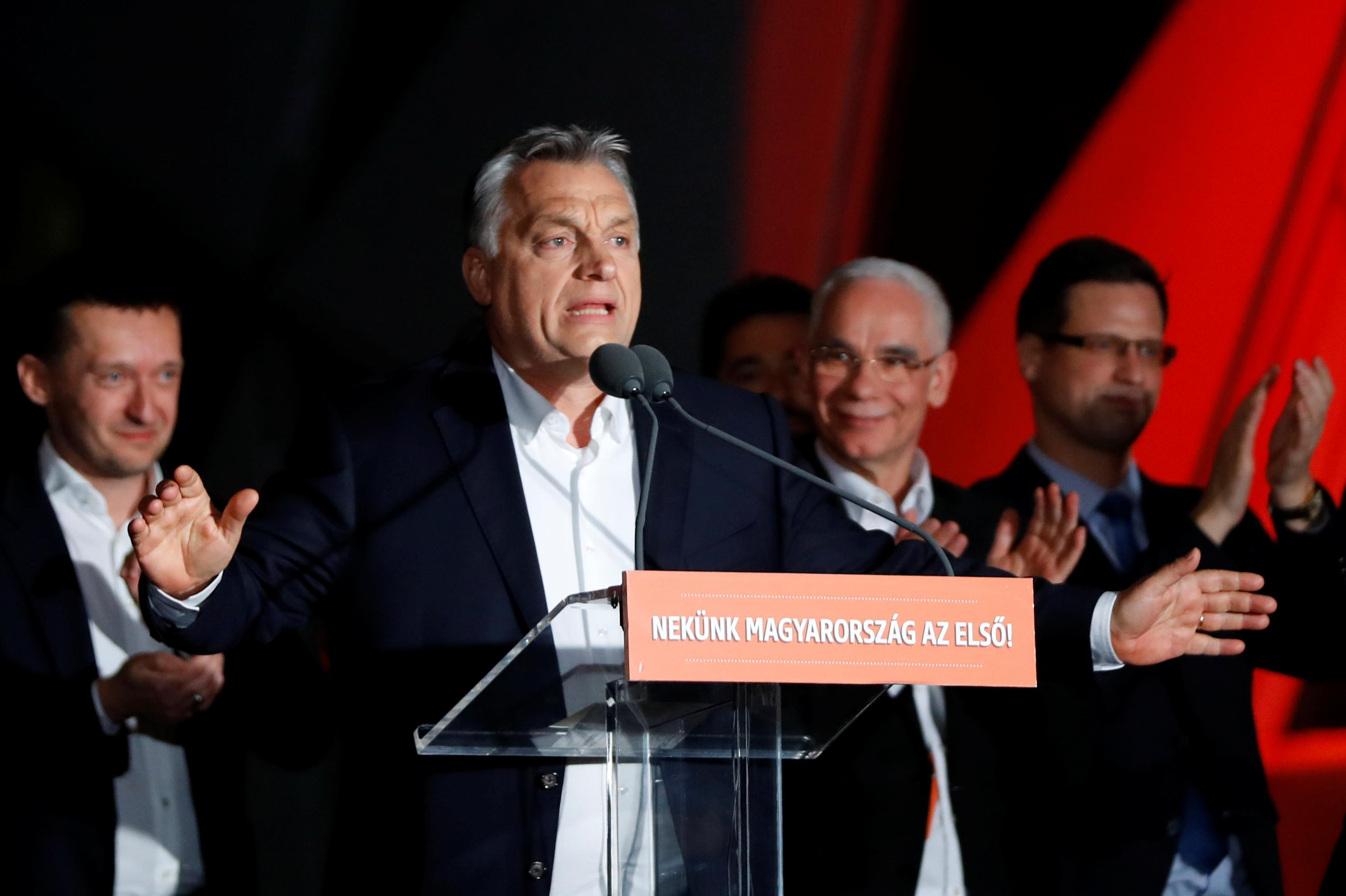 From liberal hero to right-wing icon, Orban's appeal trumps rivals