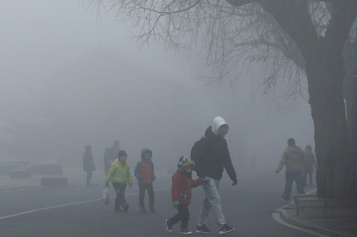 What Is Smog >> China's Xuzhou begins environmental checks to meet 2018 ...