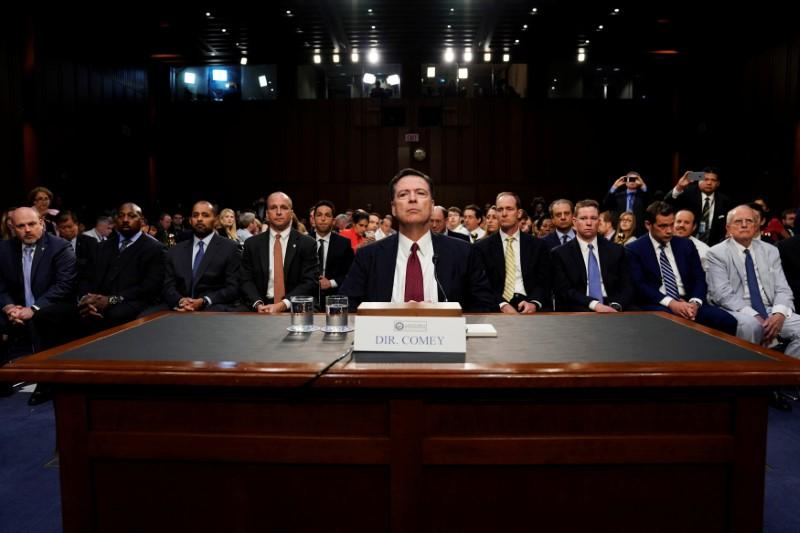 photo image Trump, Republicans intensify attack on ex-FBI director Comey