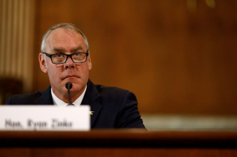 photo image Interior secretary says won't lower oil, gas offshore royalty rates 'at this time'