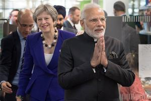 PM Narendra Modi visits Britain