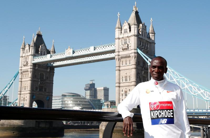 """Human record holder"" Kipchoge knows what he is doing"