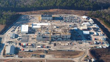 The U.S. Energy Department's Savannah River Site near Aiken